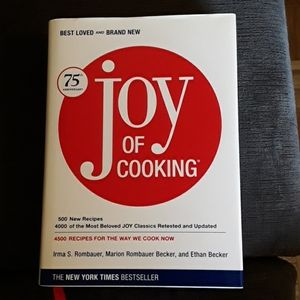 The Joy of Cooking hardcover